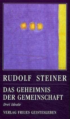 Das Geheimnis der Gemeinschaft von Steiner,  Rudolf