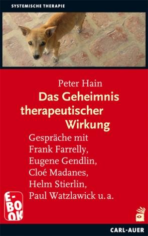 Das Geheimnis therapeutischer Wirkung von Hain,  Peter