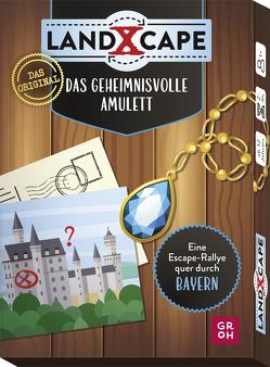 Das geheimnisvolle Amulett – Eine Escape-Rallye quer durch Bayern von Harder,  Corinna, Harder,  Swen