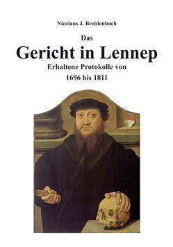 Das Gericht in Lennep von Breidenbach,  Nicolaus J.