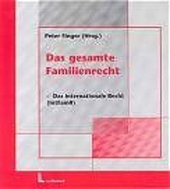 Das gesamte Familienrecht / Das gesamte Familienrecht Band 2 von Siehr,  Kurt