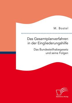 Das Gesamtplanverfahren in der Eingliederungshilfe: Das Bundesteilhabegesetz und seine Folgen von Bostel,  M.