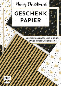 Das Geschenkpapier-Set – Merry Christmas: Verpackungsideen und 10 Bogen im weihnachtlichen Design