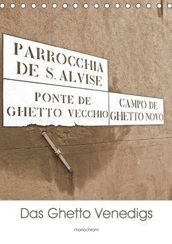 Das Ghetto Venedigs (Tischkalender 2019 DIN A5 hoch) von Schimon,  Claudia