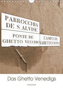 Das Ghetto Venedigs (Wandkalender 2019 DIN A4 hoch) von Schimon,  Claudia