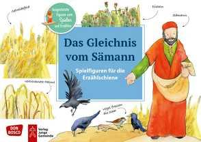 Das Gleichnis vom Sämann. Spielfiguren für die Erzählschiene von Lefin,  Petra
