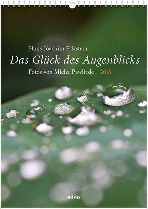 Das Glück des Augenblicks 2016 – Wandkalender von Eckstein,  Hans-Joachim, Pawlitzki,  Micha