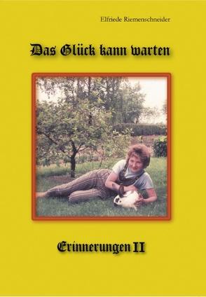 Das Glück kann warten von Riemenschneider,  Elfriede