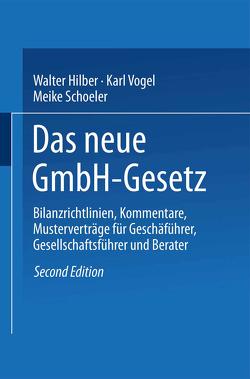 Das GmbH-Gesetz von Hilber,  Walter, Schöler,  Meike, Vogel,  Karl