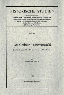 Das Goslarer Reichsvogteigeld von Deich,  Werner