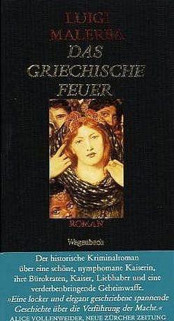 Das Griechische Feuer von Malerba,  Luigi, Schnebel-Kaschnitz,  Iris