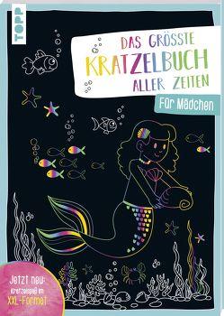 Das größte Kratzelbuch aller Zeiten für Mädchen von frechverlag