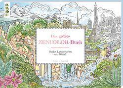 Das größte Zencolor-Buch von Ursula,  Schwab