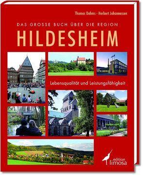 Das große Buch über die Region Hildesheim von Dahms,  Thomas, Johannessen,  Herbert