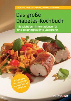Das große Diabetes-Kochbuch von Müller,  Sven-David, Weißenberger,  Christiane
