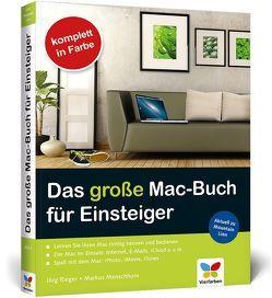 Das große Mac-Buch für Einsteiger von Menschhorn,  Markus, Rieger,  Jörg