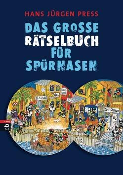 Das große Rätselbuch für Spürnasen von Press,  Hans Jürgen