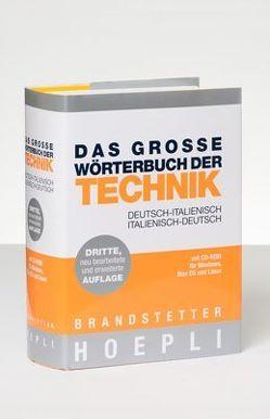 Das Große Wörterbuch der Technik  Deutsch-Italienisch/Italienisch-Deutsch mit CD-ROM