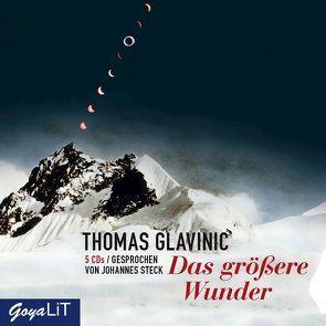 Das größere Wunder von Glavinic,  Thomas, Steck,  Johannes