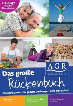Das große AGR Rückenbuch von Albers,  Michael, Cordes,  Tanja, Dargatz,  Thorsten, Detjen,  Detlef, Jäger,  Silke, Löhn,  Jens, Meinken,  Janka, Schmitt,  Erich