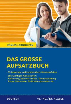 Das große Aufsatzbuch für die 10.-12./13. Klasse. von Friepes,  Christine, Richter,  Annett