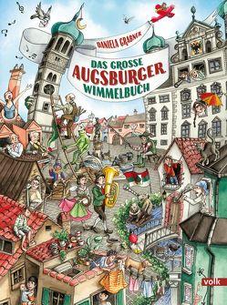 Das große Augsburger Wimmelbuch von Grabner,  Daniela