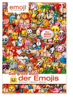 Das große Buch der Emojis: Stickern, Rätseln, Spielen von Panini
