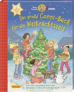 Das große Conni-Buch für die Weihnachtszeit von Albrecht,  Herdis, Boehme,  Julia, Sörensen,  Hanna