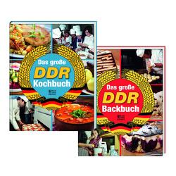 DDR-Kochbuch und DDR-Backbuch Set