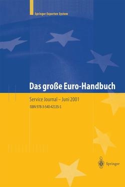 Das große Euro-Handbuch von Staehle,  Klaus W.