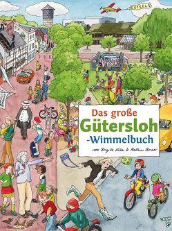 Das große GÜTERSLOH-Wimmelbuch von Borner,  Matthias, Kuka,  Brigitte