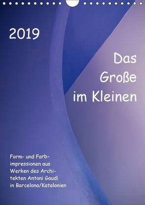 Das Große im Kleinen (Wandkalender 2019 DIN A4 hoch) von Klumpp,  Richard