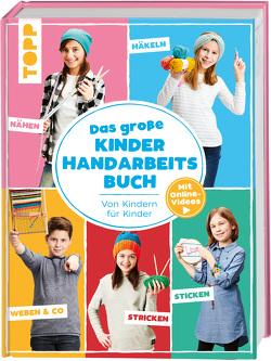 Das große Kinderhandarbeitsbuch von Andresen,  Ina, Kollwitz,  Ines, Mitula,  Fanny