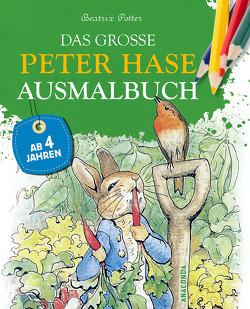 Das große Peter-Hase-Ausmalbuch von Potter,  Beatrix