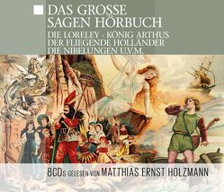 Das Große Sagen-Hörbuch von Tippner,  Thomas, ZYX Music GmbH & Co. KG