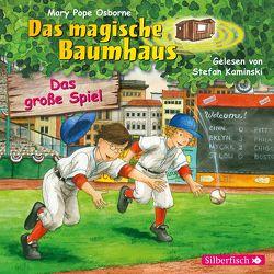 Das große Spiel (Das magische Baumhaus 54) von Kaminski,  Stefan, Pope Osborne,  Mary, Rahn,  Sabine