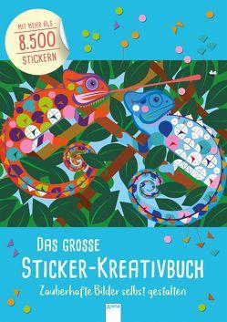 Das große Sticker-Kreativbuch. Zauberhafte Bilder selbst gestalten von Webster,  Joanna