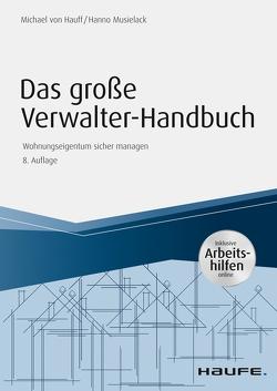 Das große Verwalterhandbuch – inkl. Arbeitshilfen online von Hauff,  Michael, Musielack,  Hanno