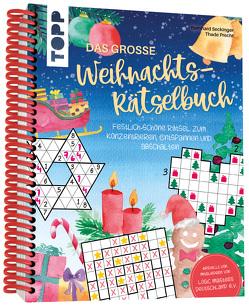 Das große Weihnachts-Rätselbuch von Precht,  Thade, Seckinger,  Bernhard, Stapff,  Christin