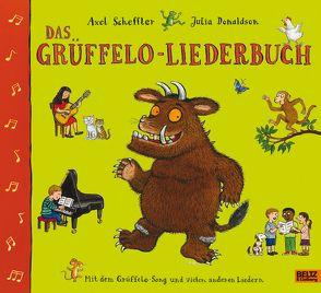 Das Grüffelo-Liederbuch von Donaldson,  Julia, Lassahn,  Bernhard, Naoura,  Salah, Osberghaus,  Monika, Schaack,  Angelika, Scheffler,  Axel, Schulz,  Ilona