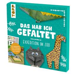 Das hab ich gefaltet Mini-Papierset – Expedition im Zoo von Jones,  Josephine, Pypke,  Susanne