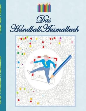 Das Handball Ausmalbuch von Taane,  Theo von