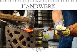 Das Handwerk – Kalender der Arbeit (Wandkalender 2019 DIN A3 quer) von ShirtScene