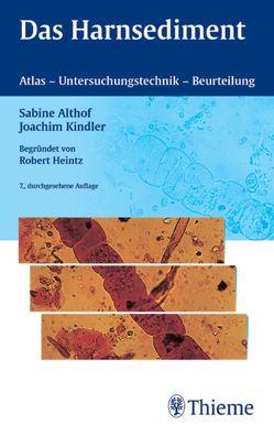 Das Harnsediment von Althof,  Sabine, Kindler,  Joachim
