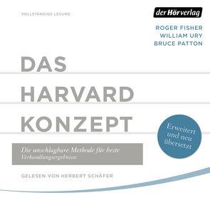 Das Harvard-Konzept von Fisher,  Roger, Neubauer,  Jürgen, Patton,  Bruce, Schäfer,  Herbert, Ury,  William