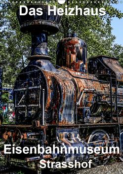 Das Heizhaus: Eisenbahnmuseum Strasshof (Wandkalender 2019 DIN A3 hoch) von Sock,  Reinhard