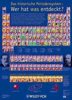 Das historische Periodensystem – Wer hat was entdeckt? von Quadbeck-Seeger,  Hans-Jürgen