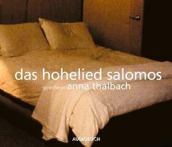 Das Hohelied Salomos von Thalbach,  Anna, unbekannt