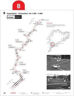 Das Ideallinie-Konzept. Gezeigt am Beispiel des Nürburgrings – Die Streckenpläne von Fassnacht,  Lothar, Stucky,  Martin