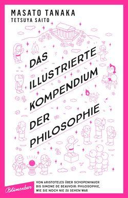 Das illustrierte Kompendium der Philosophie von Müller,  Elena, Müller,  Jan-Christoph, Saito,  Tetsuya, Tanaka,  Masato, Watanabe,  Mayuko